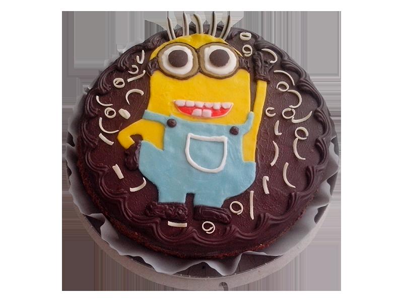 Торт з Міньйоном