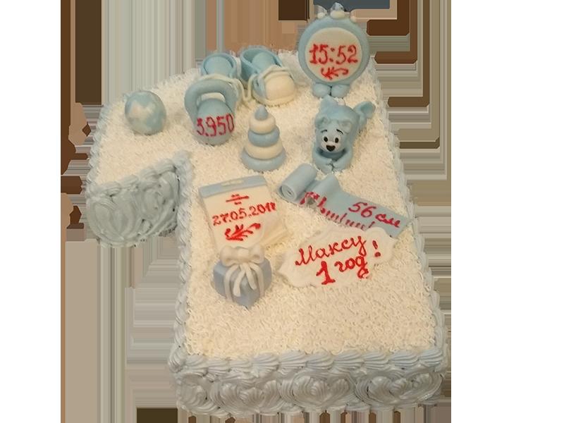 Торт на один рік