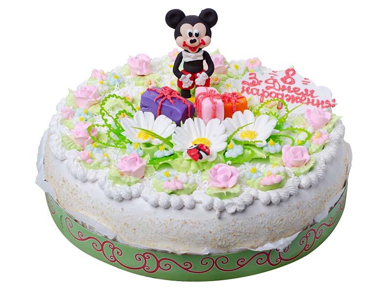 Торт Святковий з Міккі Маусом
