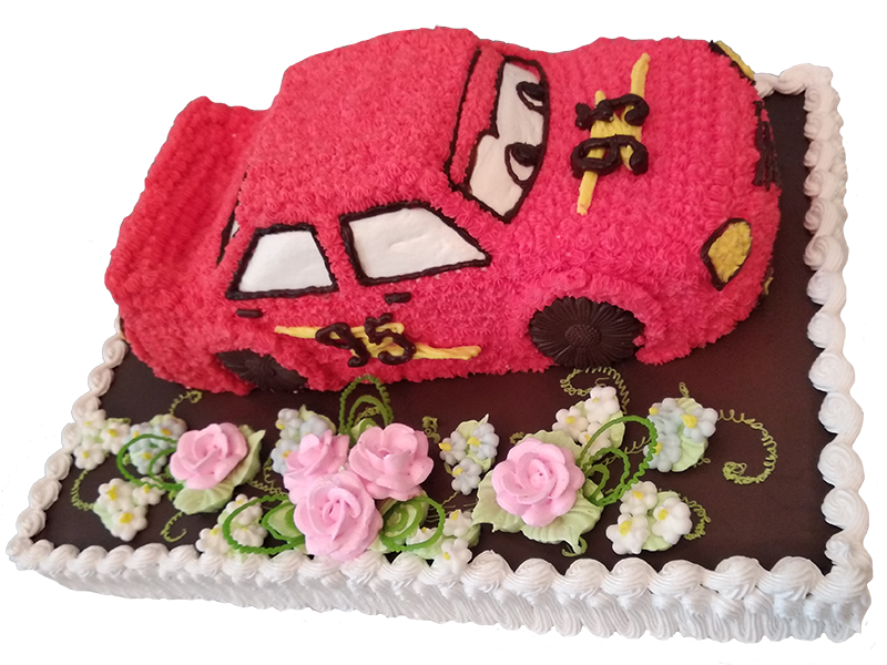 Торт тачка
