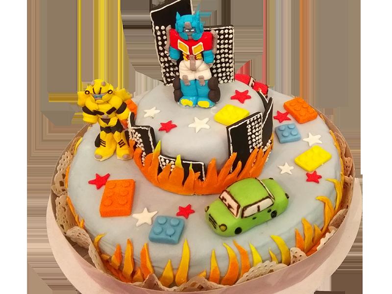 Торт Трансформери