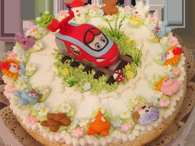 Торт з потягом