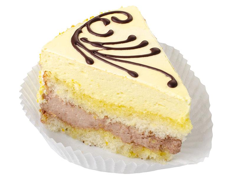 Торт Шоколадно Банановий